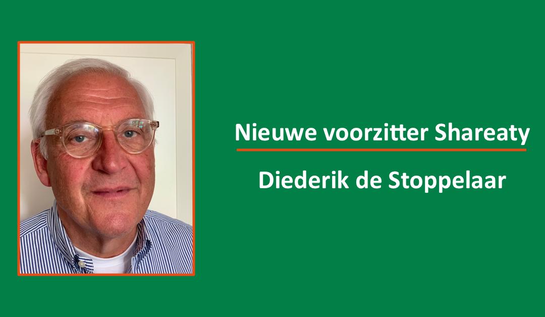 Nieuwe voorzitter: Diederik de Stoppelaar