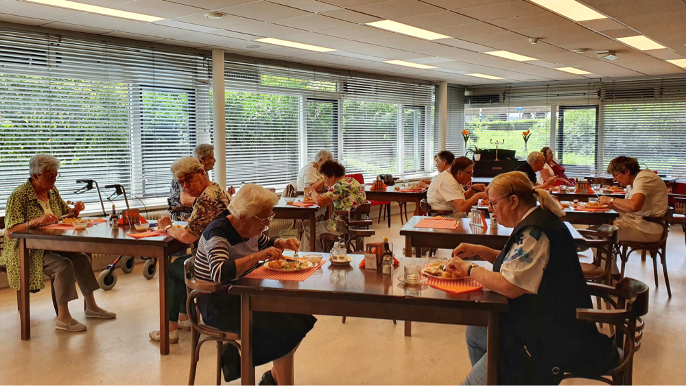 Zorgeloos genieten van een gezonde maaltijd bij Wilskracht Werkt